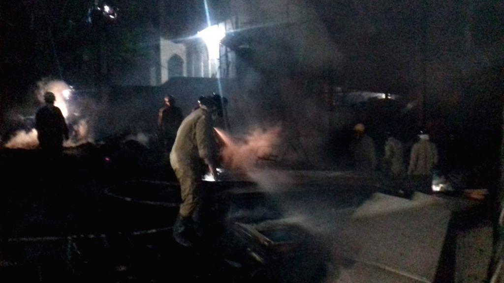 Saheen Bagh Fire.