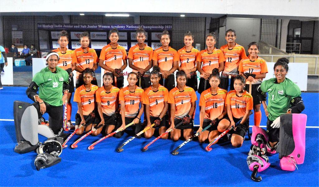 SAI Academy win Junior Women's Academy hockey title.