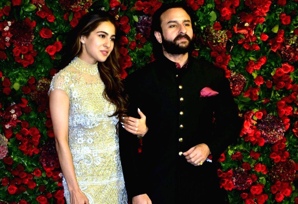 Saif Ali Khan and Sara Ali Khan. (File Photo: IANS) - Saif Ali Khan and Sara Ali Khan