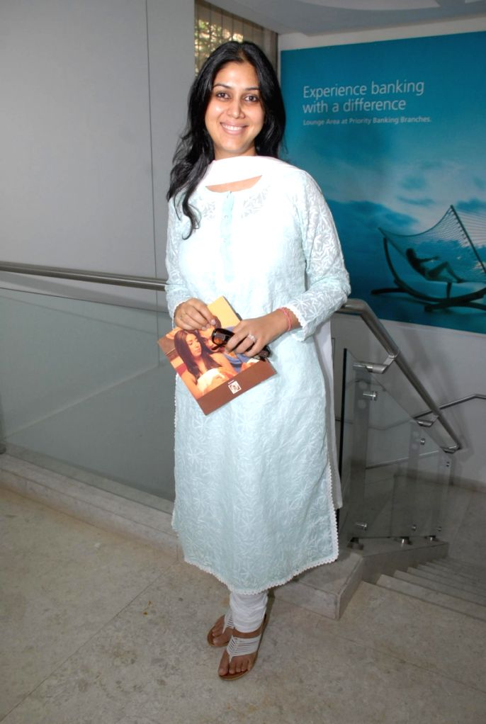 Sakshi Tanwar at Coffee Shop film promotion.