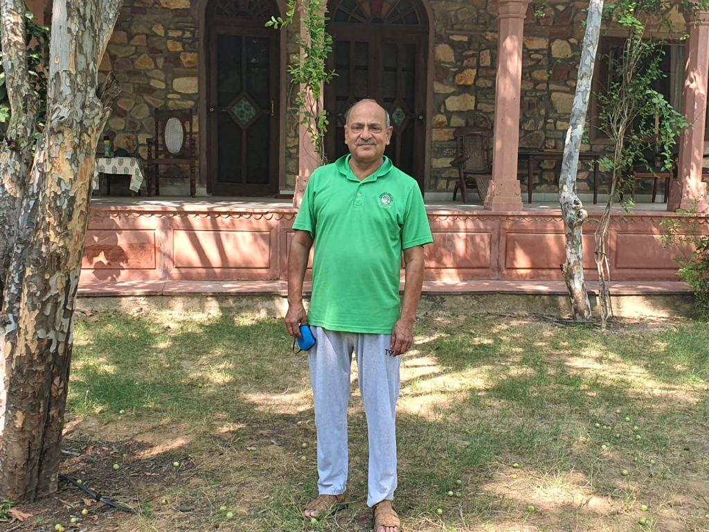 Salauddin Ahmed, the former Chief Secretary of Rajasthan.