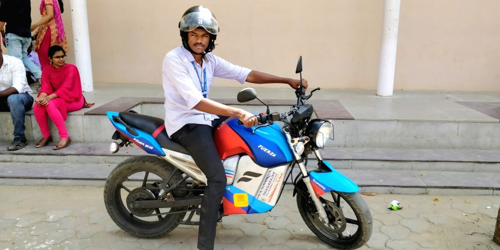 Salem students create eBike under Rs 1 lakh.