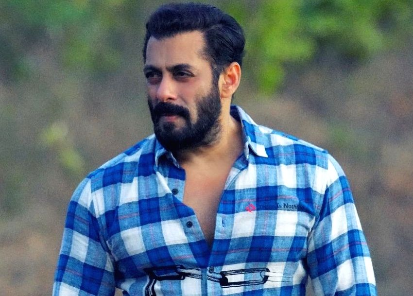 Salman encourages social distancing with Swag