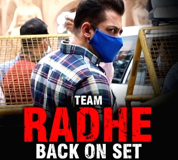 Salman Khan, Disha Patani shoot for 'Radhe' amidst new normal - Salman Khan