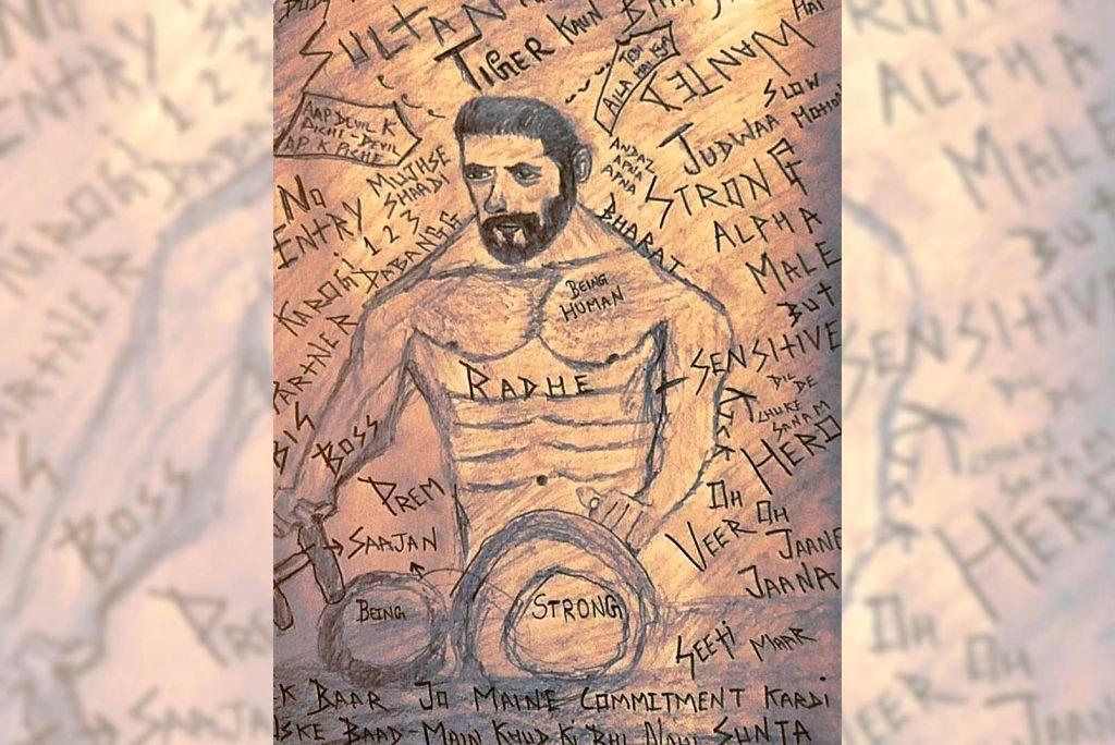 Salman Khan inspires Gautam Gulati's new artwork. - Salman Khan