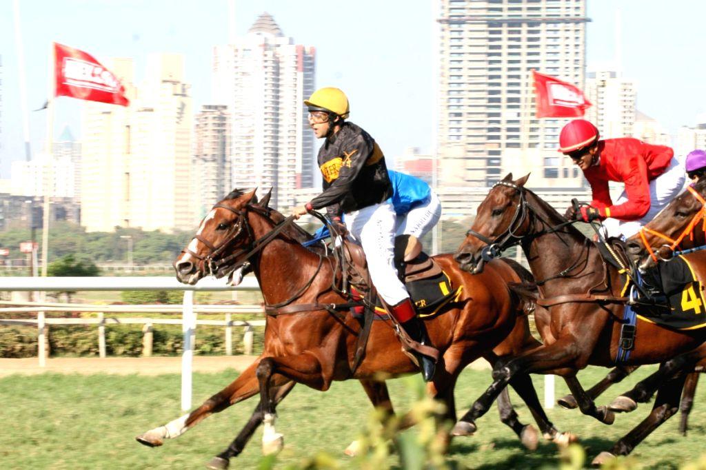 Salman Khan to ride a horse at Hello Million race in Mumbai.