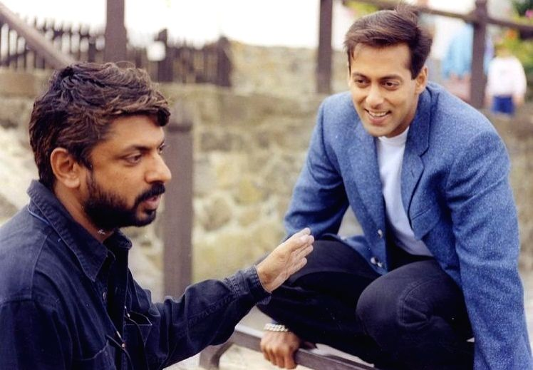 Salman Khan turns nostalgic as 'Hum Dil De Chuke Sanam' turns 22 ( credit : salmankhan/twitter) - Salman Khan