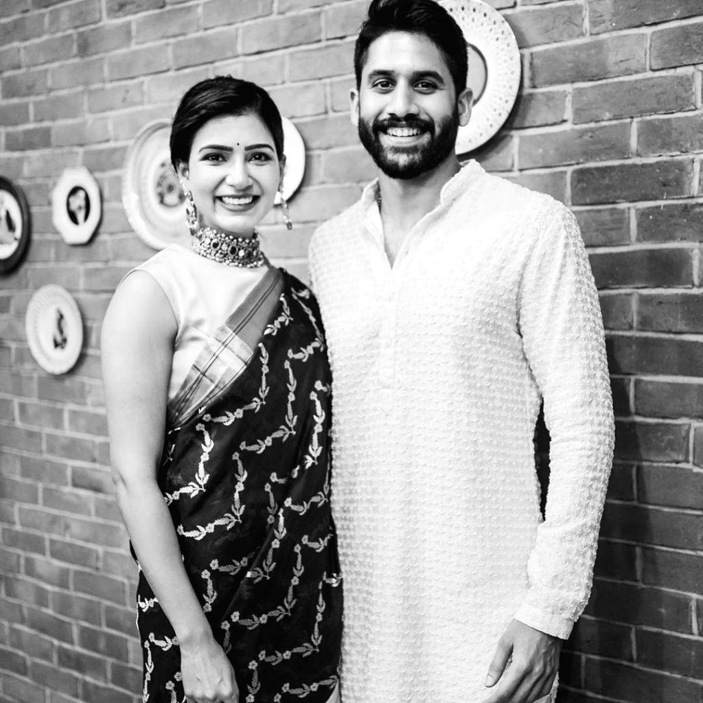 Samantha Akkineni posts wedding anniversary wish for hubby Naga Chaitanya