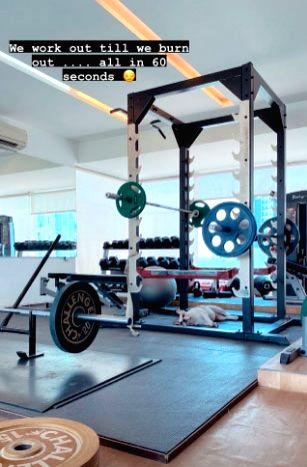 Samantha Akkineni's workout secret, 'all in 60 seconds'.