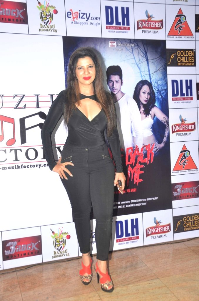 Sambhawna Seth during the launch of Kashmira Shah`s short film ``Come Back to Me`` on 05 Oct 2016. - Sambhawna Seth and Kashmira Shah