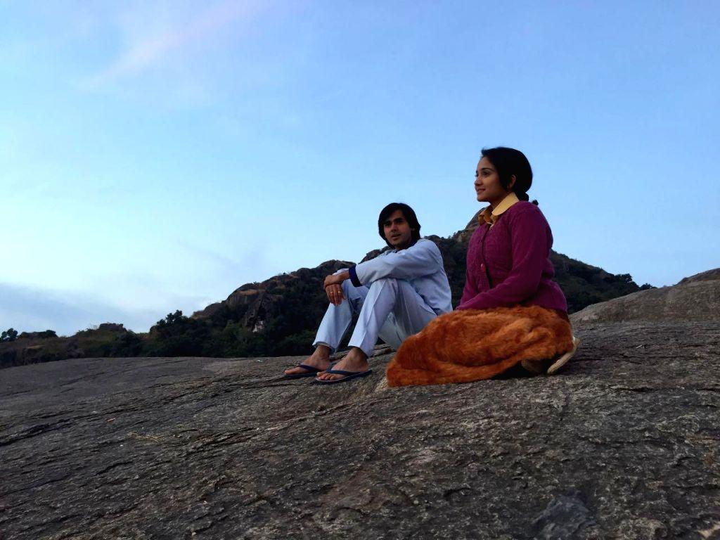 Sameer and Naina in Mount Abu.