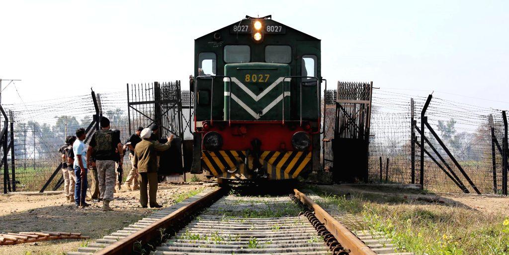 Samjhauta Express at Indo-Pak border. (File Photo: IANS)