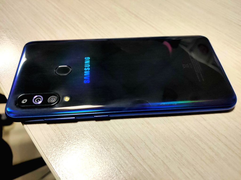 Samsung Galaxy M40. (File Photo: IANS)