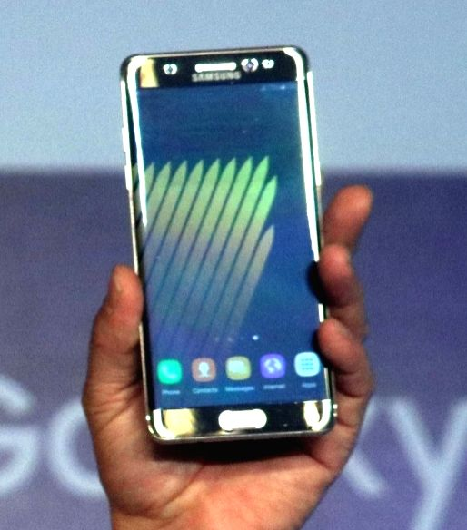Samsung Galaxy Note 7 . (File Photo: IANS)