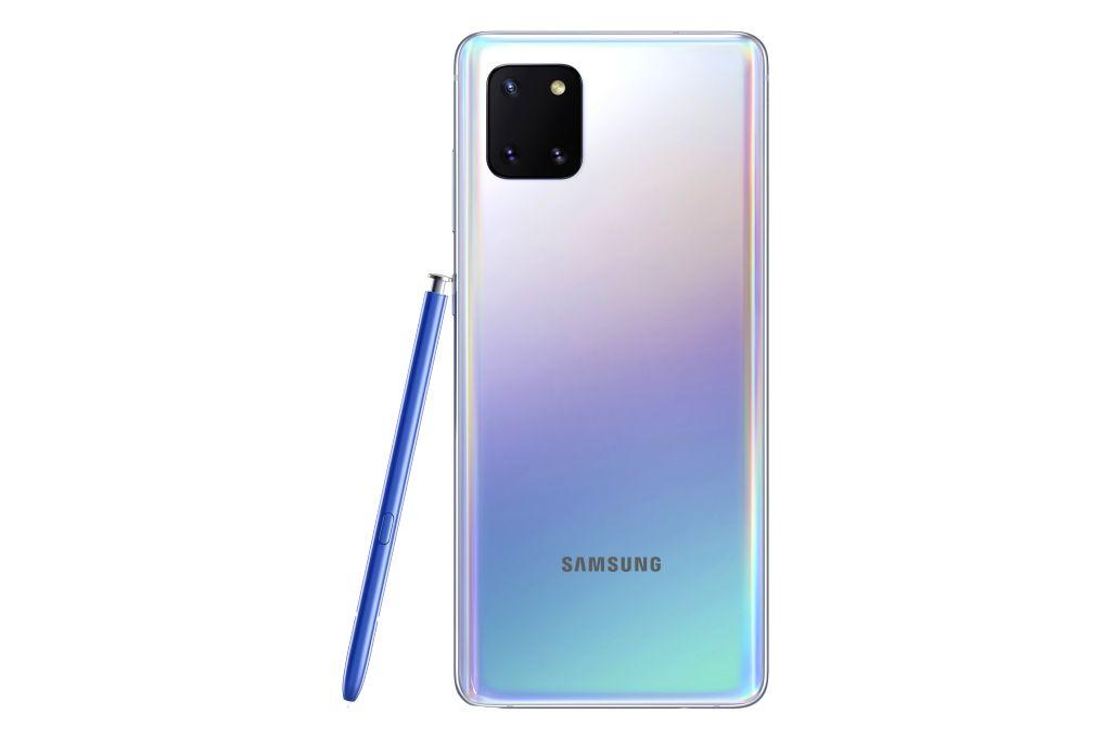 Samsung Galaxy Note10 Lite smartphone.
