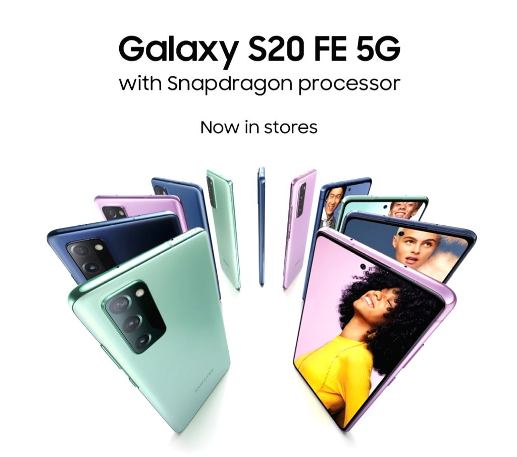 Samsung Galaxy S20 FE 5g with Snapdragon 865 SoC launched.