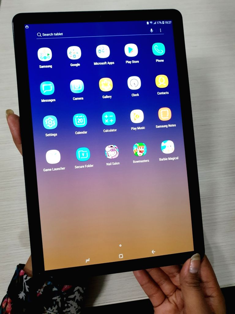 : Samsung has brought out the Galaxy Tab S4 in India which, at Rs 57,900, is packed with rich featuresboth for the workaholic and the lazy soul..