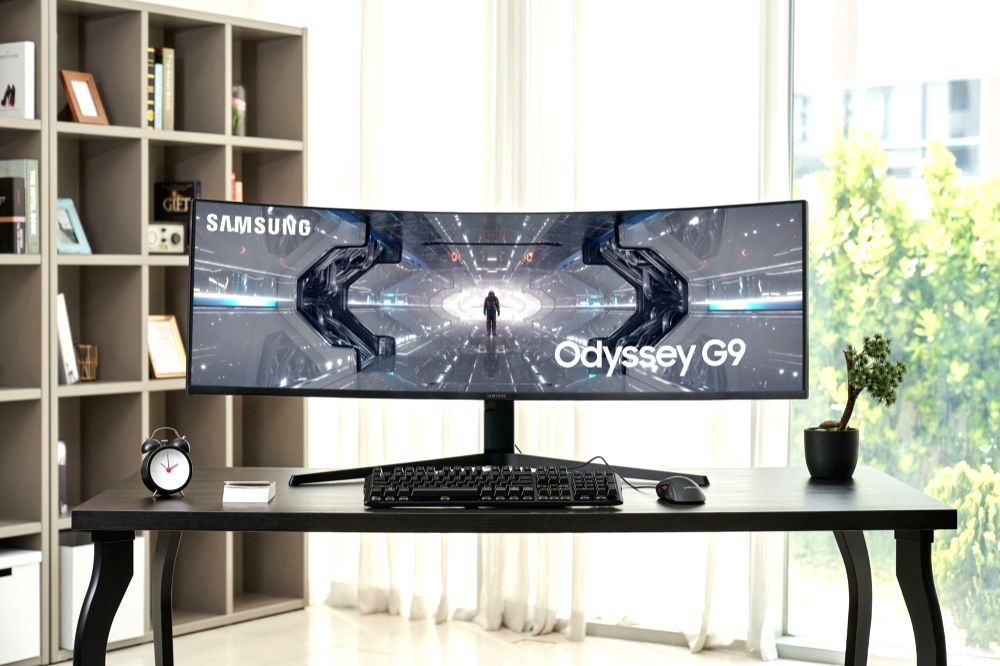 Samsung launches new curved gaming monitor Odyssey G9.