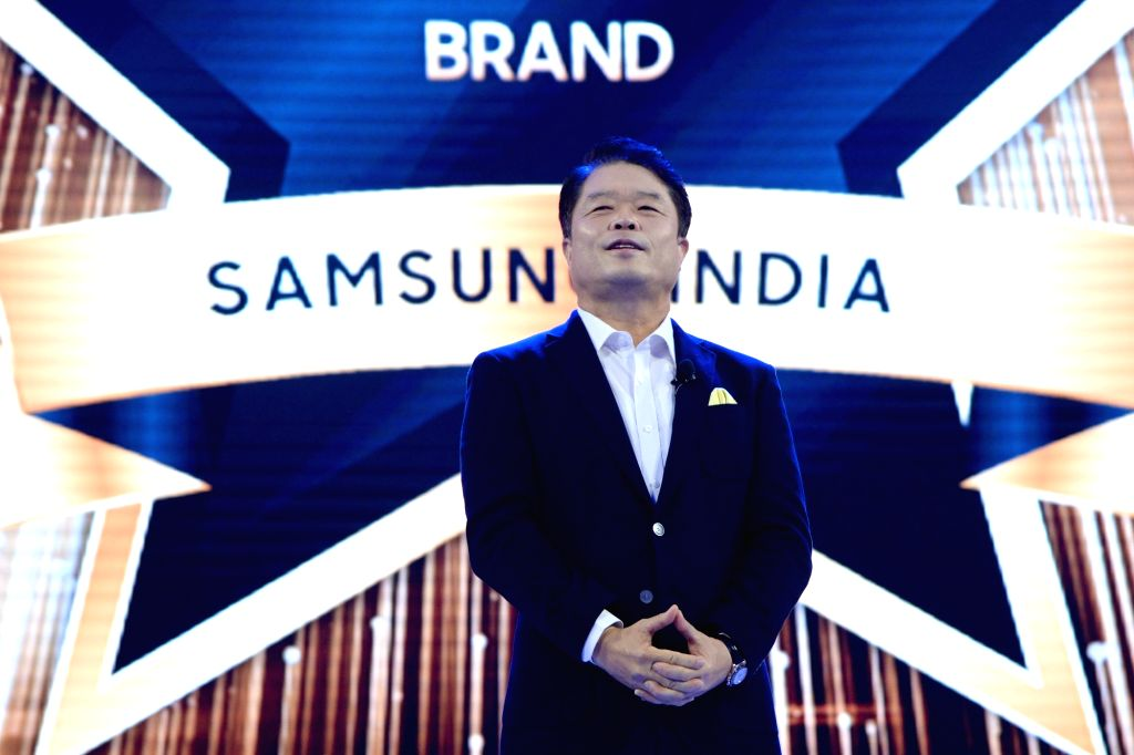 Samsung SouthWest Asia President and CEO HC Hong at the inauguration of Samsung's largest mobile experience centre, in Bengaluru, on Sept 11, 2018.
