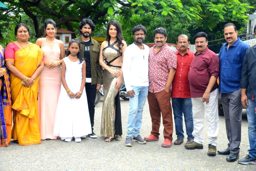 Samudrudu Movie Opening - Stills.