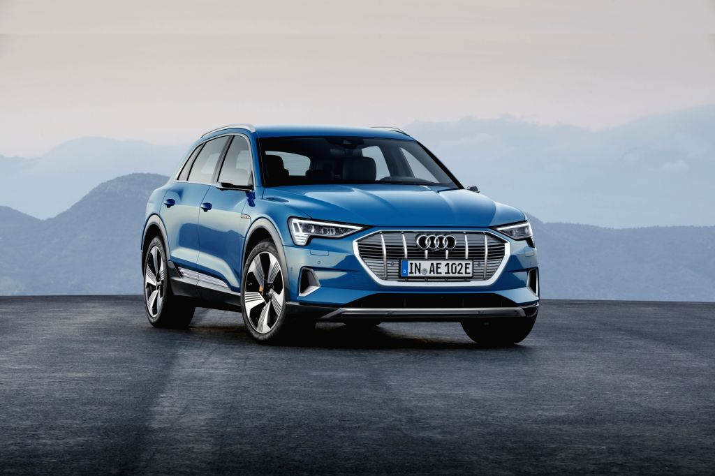 San Francisco: A view of the Audi 'E-tron' electric SUV launched in San Francisco, California on Sept 17, 2018.