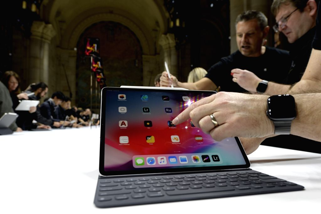 San Francisco, June 4 (IANS) Apple is likely to launch 2021 iPad Pros with 5G capabilities owing to Qualcomm's Snapdragon X55 5G modem.(Xinhua/IANS)