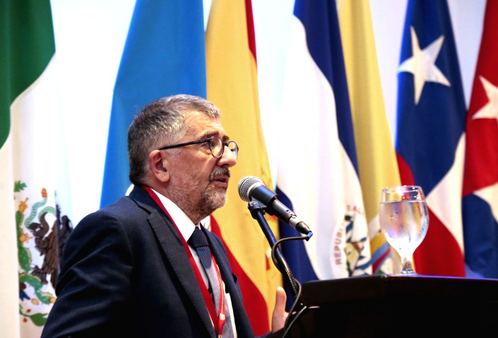 SAN JOSE, Sept. 13, 2016 - Mario Cimoli, director of the Division of Production, Productivity and Management of the United Nations Economic Commission for Latin America and the Caribbean (ECLAC), ...