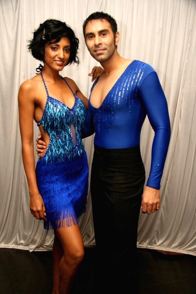 Sandip Soparkar at world dance day bash.