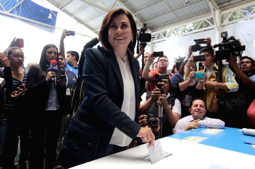 Sandra Torres. (Xinhua/Str) (jp) (fnc/IANS)