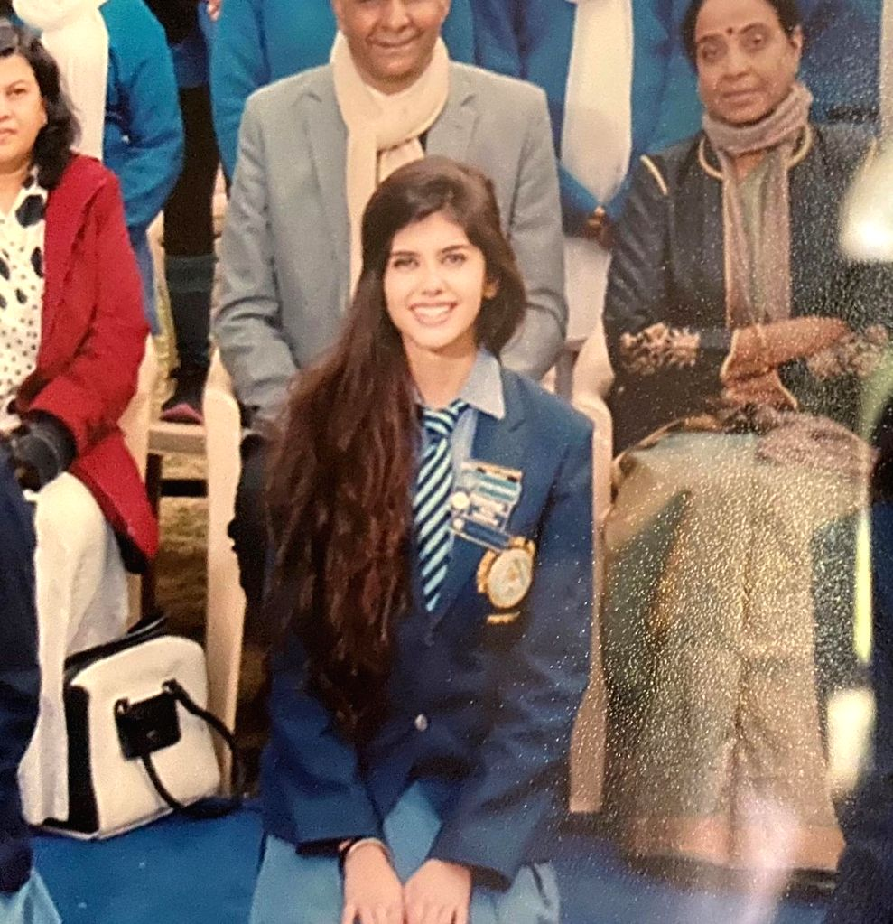 Sanjana Sanghi celebrates as her alma mater turns 100