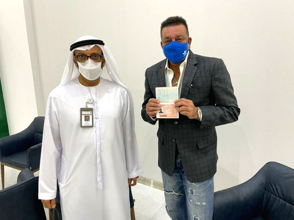 Sanjay Dutt: Honoured to have received a golden visa for the UAE (photo:Instagram) - Sanjay Dutt