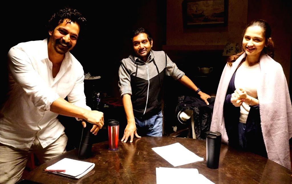 Sanjeeda Shaikh, Harshvardhan Rane wrap up 'Kun Faya Kun'.(photo:instagram)