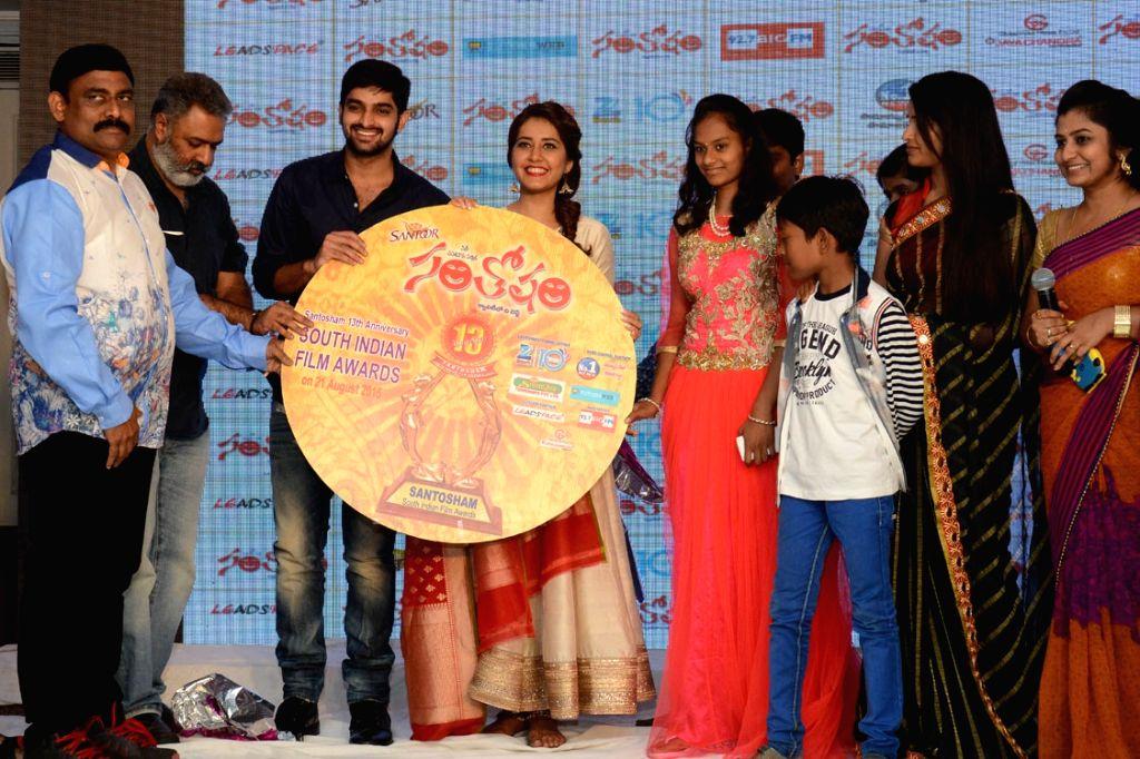 Santosham film awards press meet in Hyderabad on 2nd August 2015