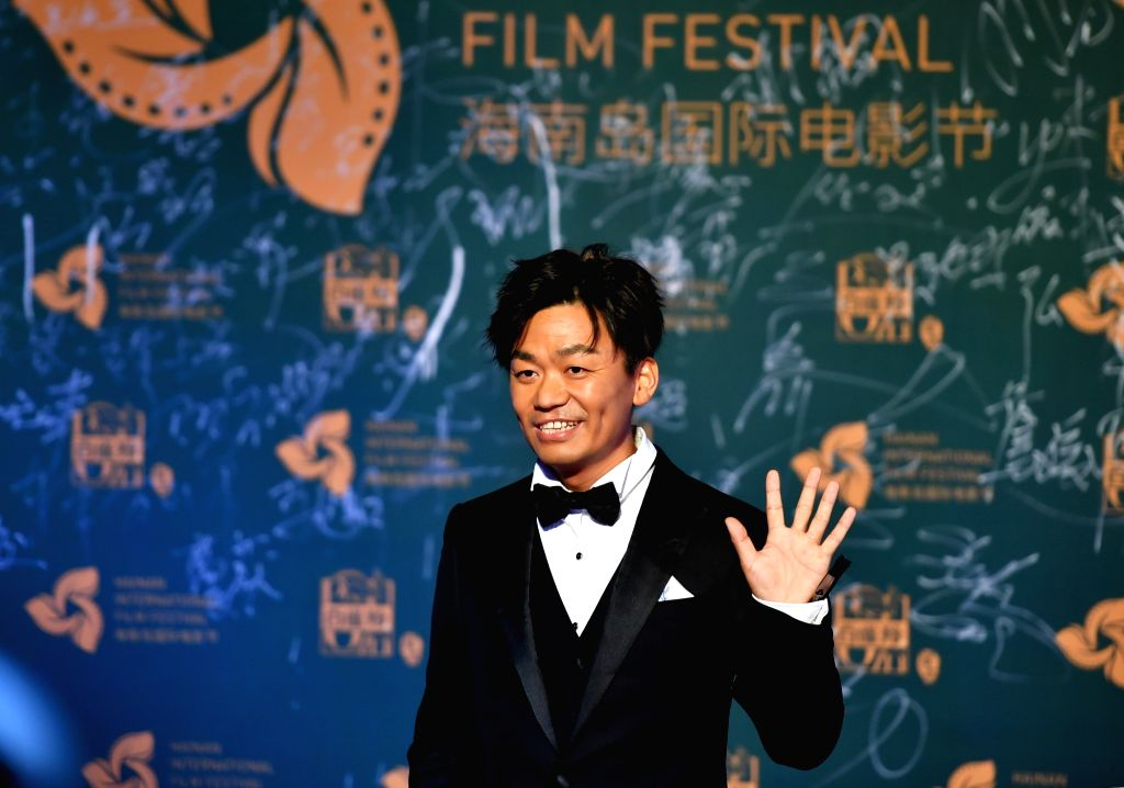SANYA, Dec. 12, 2018 - Actor Wang Baoqiang appears on the red carpet ceremony of the 1st Hainan Island International Film Festival in Sanya, south China's Hainan Province, Dec. 11, 2018. The first ... - Wang Baoqiang
