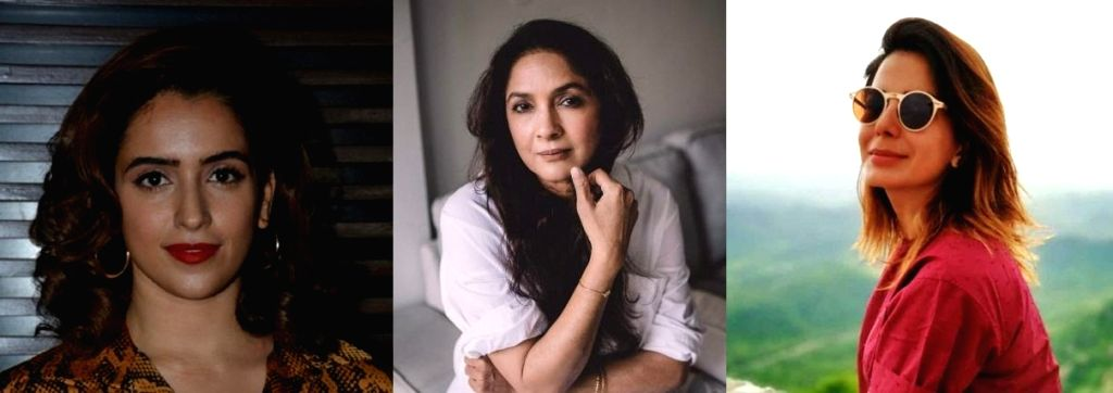 Sanya Malhotra, Neena Gupta, Kirti Kulhari to discuss new-age dating. - Sanya Malhotra and Neena Gupta