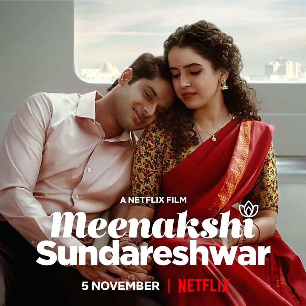 Sanya Malhotra starrer 'Meenakshi Sundareshwar' releases on Nov 5. (Credit : Instagram) - Sanya Malhotra