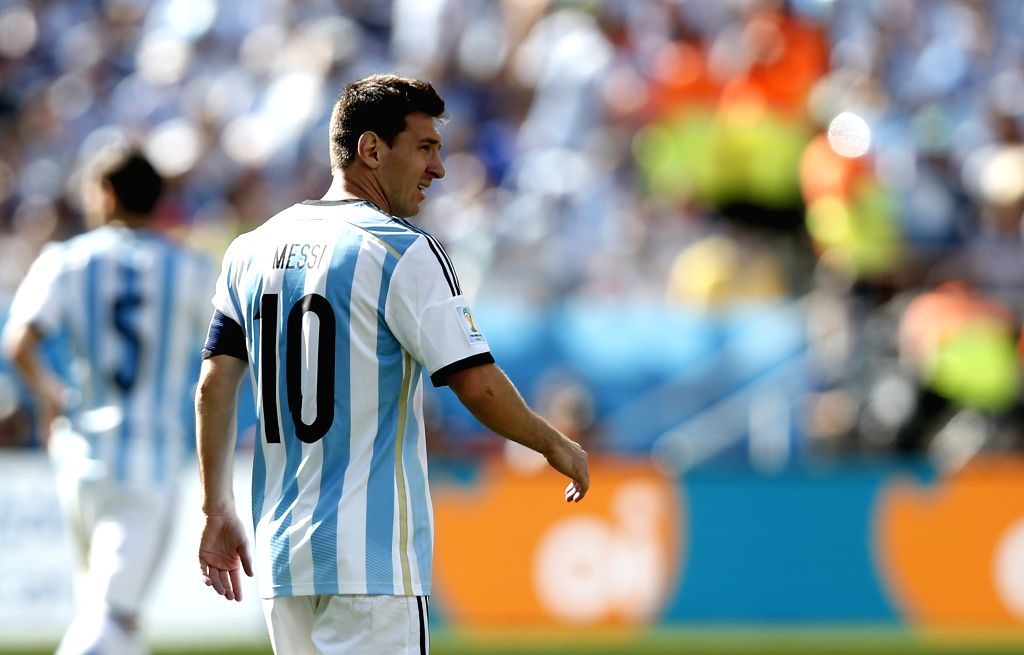 Argentina's Lionel Messi is seen during a Round of 16 match between Argentina and Switzerland of 2014 FIFA World Cup at the Arena de Sao Paulo Stadium in Sao ...