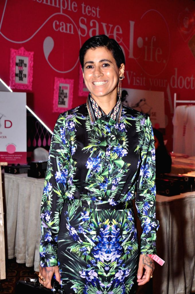 Sapna Bhavnani during ELLE Carnival for a Cause 2014 event in Mumbai on 18 May 2014.