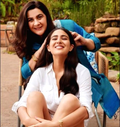 Sara Ali Khan and Amrita Singh come together for the first time for a brand endorsement! - Sara Ali Khan and Amrita Singh