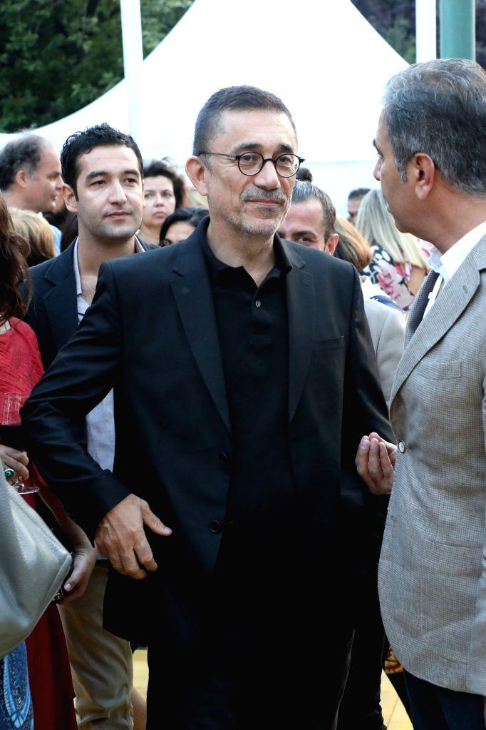 SARAJEVO, Aug. 10, 2018 - Turkish director Nuri Bilge Ceylan (C) attends the Sarajevo Film Festival in Sarajevo, Bosnia and Herzegovina, on Aug. 10, 2018. The 24th Sarajevo Film Festival kicked off ... - Nuri Bilge Ceylan
