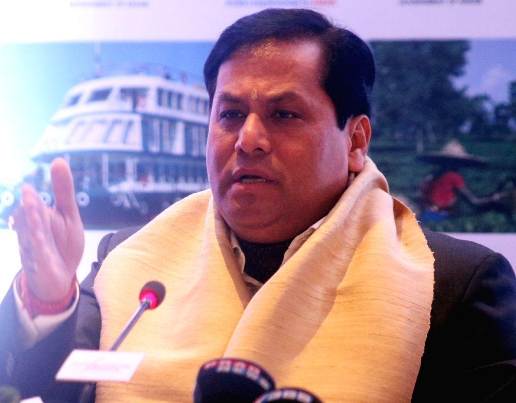 Sarbananda Sonowal. (File Photo: IANS)