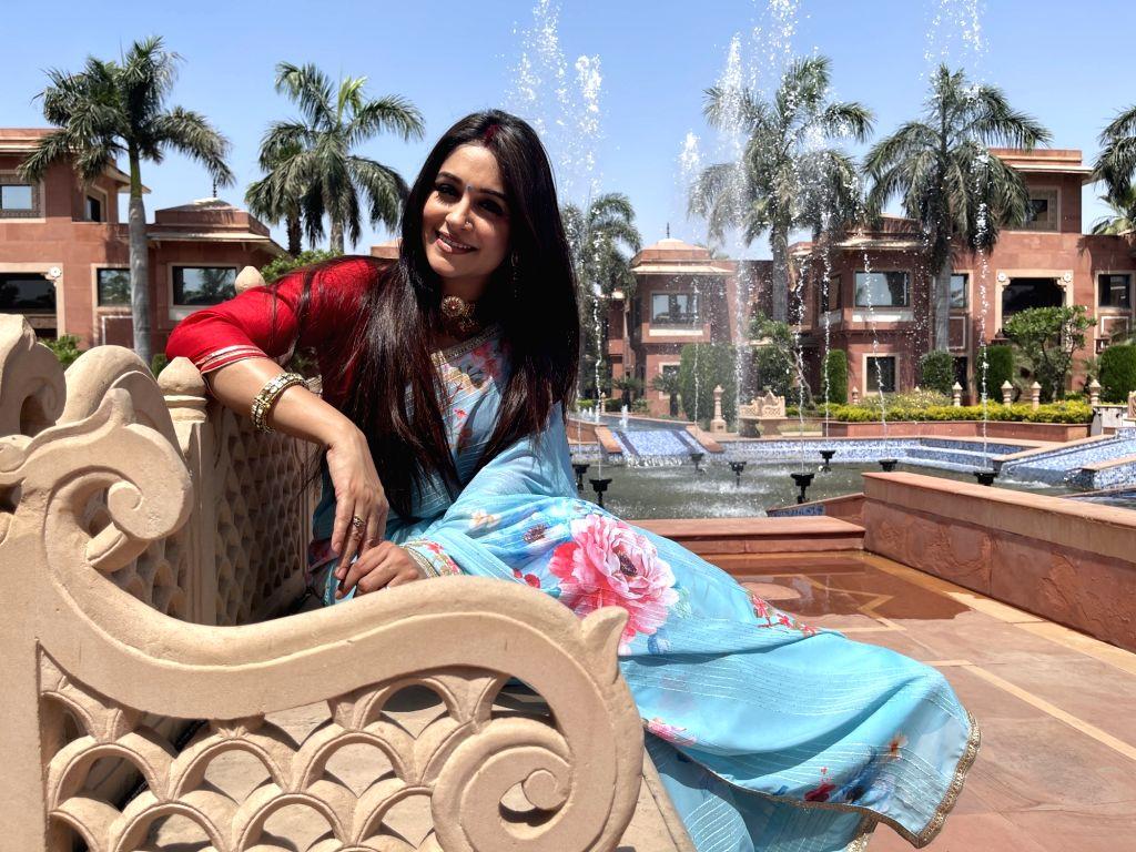 Sasural Simar Ka 2' cast shoots in Agra.