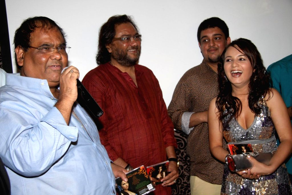 Satish Kaushik launches the album Bad Girl.