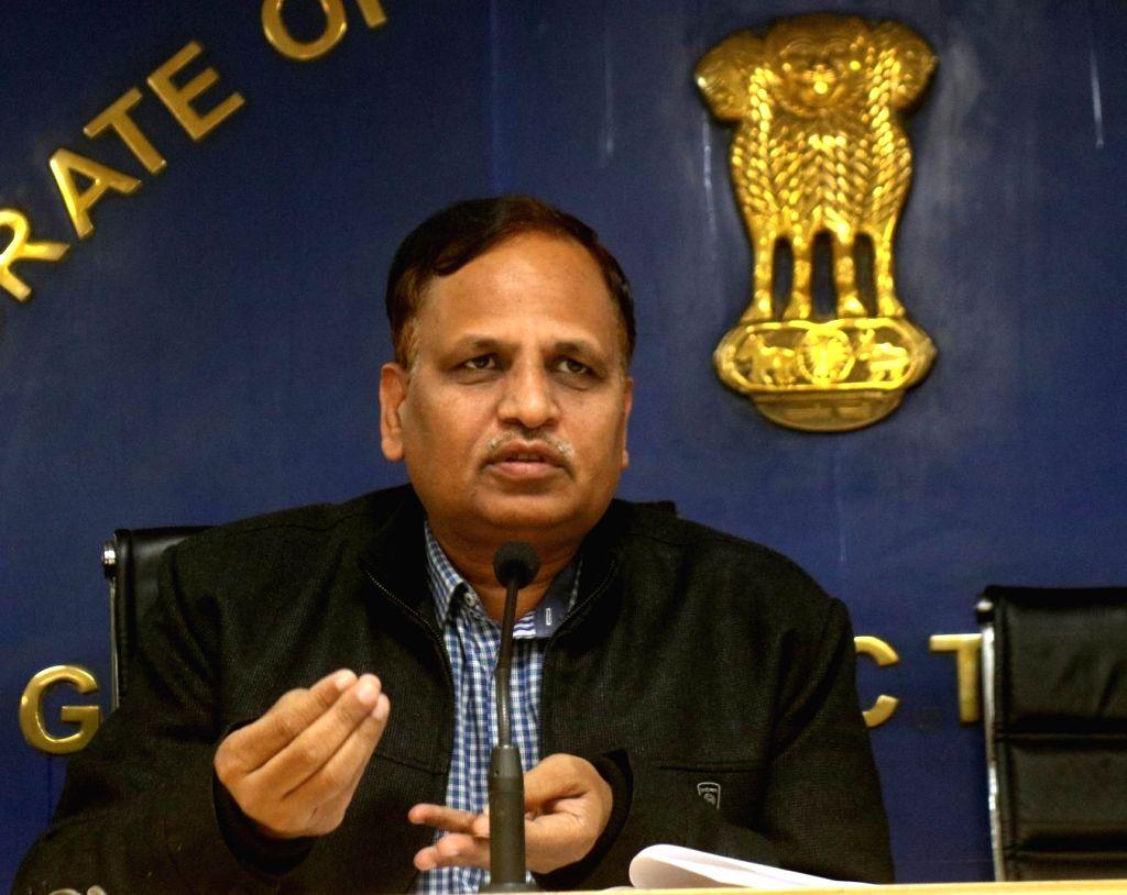 Satyendar Jain. (File Photo: IANS) - Satyendar Jain