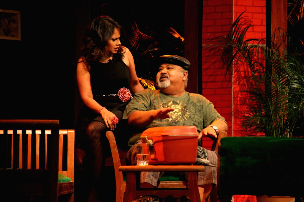 Saurabh Shukla during his play \'2 To Tango, 3 To Jive\'