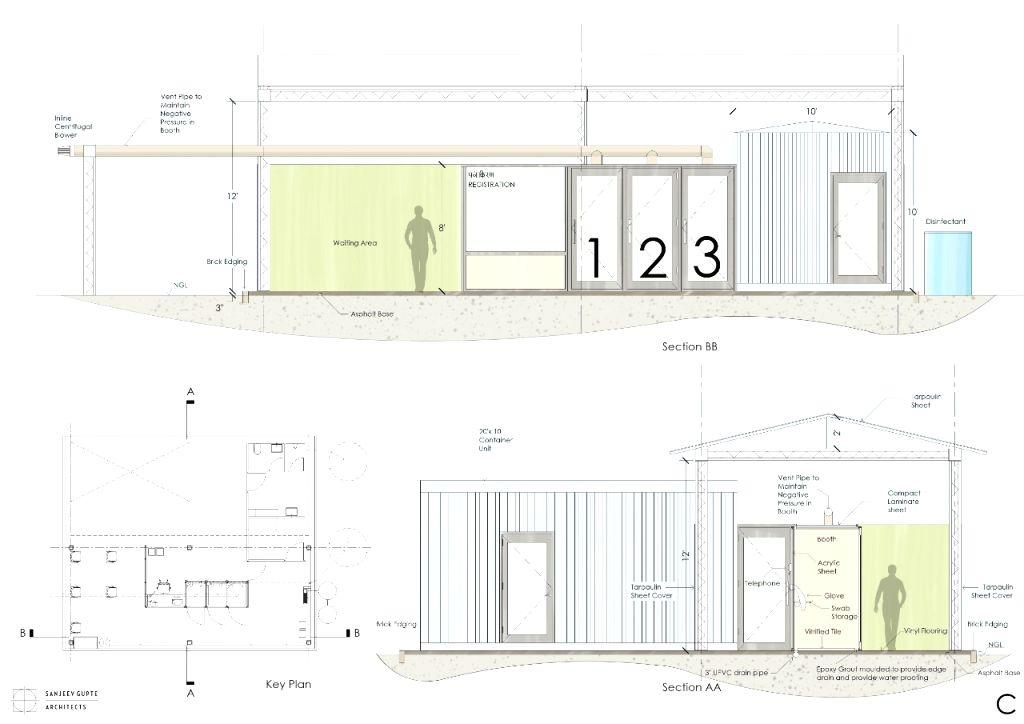 Saving the saviours: Architect designs pandemic sample collection unit.