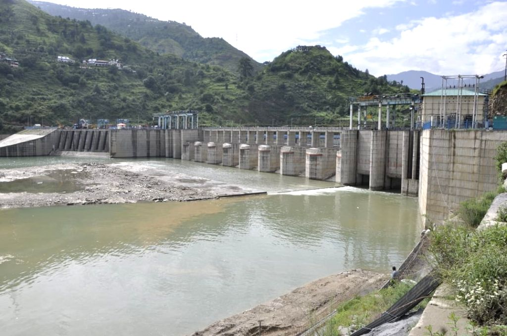 Sawra-Kuddu hydroelectric project on the Pabbar river, a tributary of the Yamuna, in Shimla district in Himachal Pradesh.