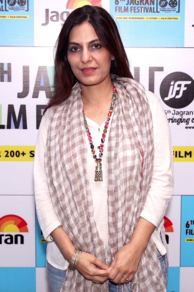 Screenwriter Juhi Chaturvedi at the Jagran Film Festival in New Delhi on July 5, 2015.