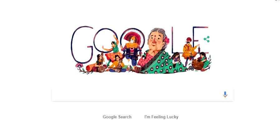 Search engine giant Google on Tuesday created a special Doodle to mark the 115th birth anniversary of Kamaladevi Chattopadhyay, hailed as a freedom fighter, social activist, actor and promoter of the ...