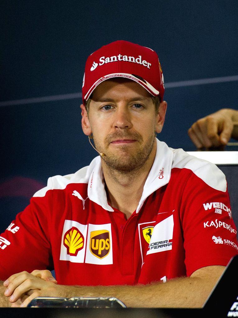 Sebastian Vettel. (Xinhua/Bai Xue/IANS)